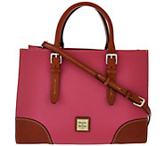 Dooney & Bourke Pebble Leather Janine Satchel - A275509