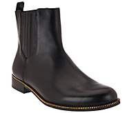 As Is Aimee Kestenberg Leather Chelsea Ankle Boots - Emily - A276109