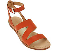 As Is Marc Fisher Leather Multi-strap Sandals - Floretta - A284709
