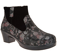 Alegria Leather Side Zip Ankle Boots - Hayden - A299309