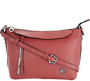 As Is orYANY Pebble Leather Larissa Crossbody - A300909