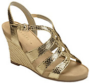 Aerosoles Wedge Sandals - Plush Plenty - A339909