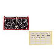By a Girl Beauty File 9 Compartment Organizational Makeup Bag - A227310