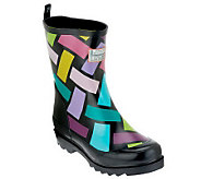 little missmatched Crazy Coordinate Wellies - A228410