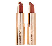 Josie Maran Argan 3-in-1 Core Color Hydrating Lipstick Duo - A228710