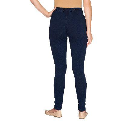 Legging Denim Standar Zetha Kopi Best Buy Indonesia Source · Regular Comfy Knit Denim Pull On