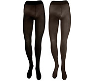 Legacy Set of 2 Colorblock Opaque Tights - A259210