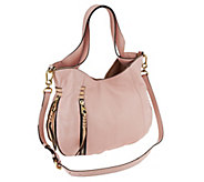 As Is orYANY Italian Leather Convertible Shoulder Bag - Melanie - A273610