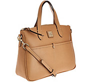 As Is Dooney & Bourke Saffiano Leather Small Satchel - A277010