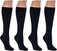 As Is Legacy Graduated Compression Trouser Socks Set of 4 - A278910