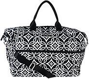 As Is Vera Bradley Lighten Up Expandable Travel Bag - A280510