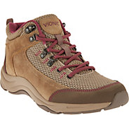 Vionic Orthotic Water Resistant Hiking Sneakers - Cypress - A284010