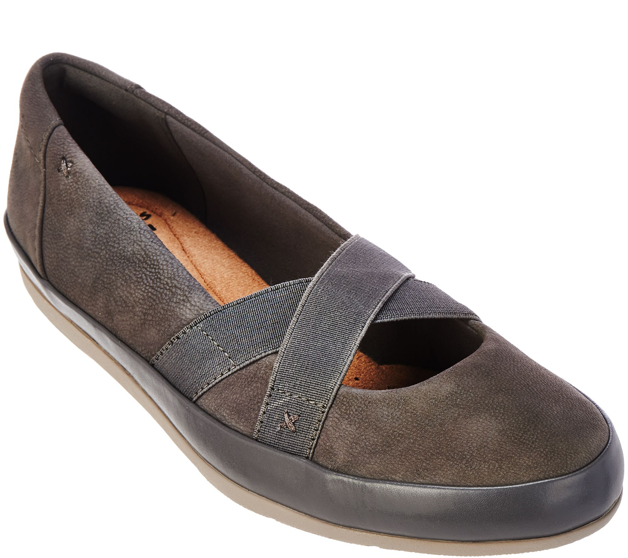 Quot As Is Quot Clarks Collection Nubuck Leather Slip On Shoes