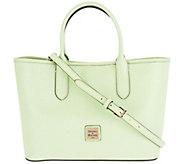 Dooney & Bourke Saffiano Leather Satchel Handbag -Brielle - A296310