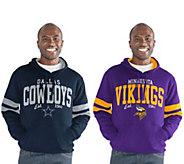 NFL Mens Fleece Pullover Hoodie - A298510