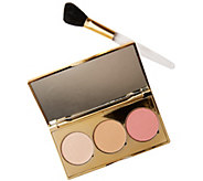 Albeit Shimmer Palette with Brush by Anthropologie - A300510