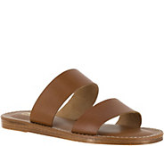 Bella Vita Leather Slide Sandals - Imo - A356710
