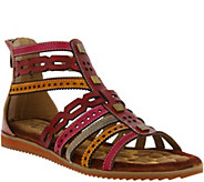 Spring Step LArtiste Gladiator Sandals - Anjula - A357310