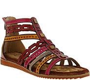 Spring Step LArtiste Gladiator Sandals - Anjula - A357310