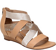 Sofft Leather Wedge Sandals - Rosaria - A357610