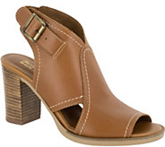 Bella Vita Leather Peep-Toe Sandals - Viv-Italy - A360310