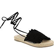 MIA Shoes Ankle Wrap Sandals - Annalise - A411610