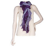 Accessory Network 3 Tier Crochet 9 x 100 Scarf - A94910