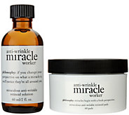 philosophy miracle worker 60ct.anti-aging retinoid pads and solution - A200811