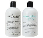 philosophy microdelivery exfoliating wash duo - A217511