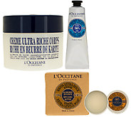 LOccitane Shea Ultra Rich 4 piece Bath & Body Collection - A261611