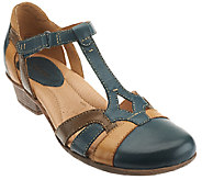 Earth Leather Sandals w/ Adjustable Strap - Luck - A262411