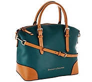 Dooney & Bourke Embossed Pebble Leather Domed Satchel - A263111