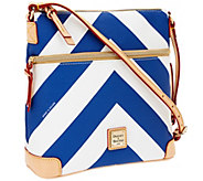 Dooney & Bourke Coated Cotton Chevron Crossbody - A263611