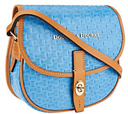 Dooney & Bourke Claremont Leather Woven Embossed Field Bag - A266611