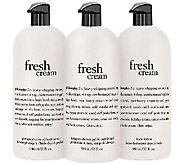 philosophy supersize fresh cream body trio - A272311