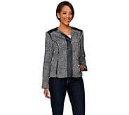 Liz Claiborne New York Heritage Collection Tweed Jacket - A272811