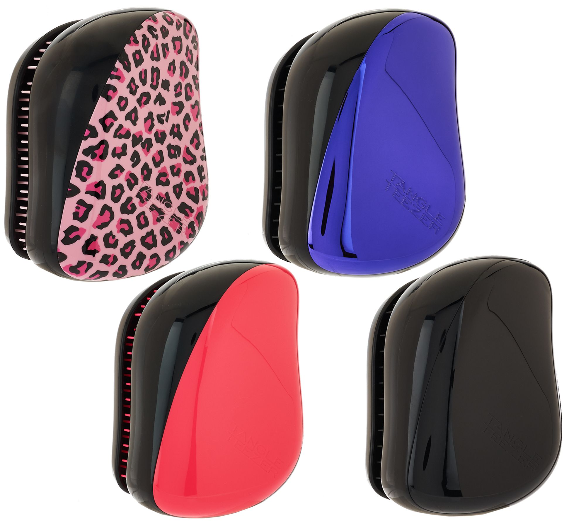 Tangle Teezer Set of 4 Detangling Compact Stylers