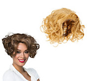 LUXHAIR NOW by Sherri Shepherd Curled Bob Wig - A273711