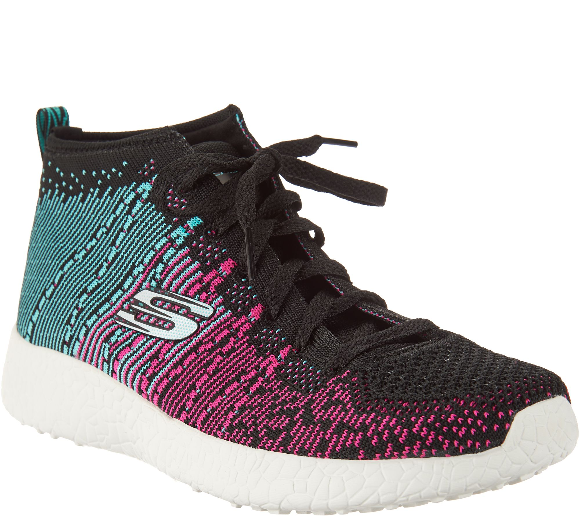 Skechers Abstract Flat Knit Sneakers