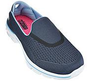 As Is Skechers GOWalk 3 Mesh Slip-on Sneakers - Strike - A281211