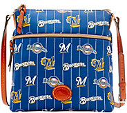 Dooney & Bourke MLB Nylon Brewers Crossbody - A281511