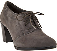Clarks Suede Lace-up Shooties - Araya Hale - A284611
