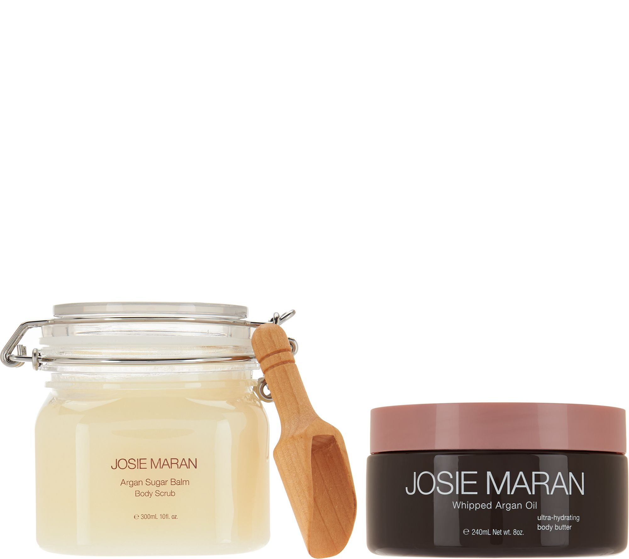 josie maran whipped argan body butter sugar balm duo auto delivery page 1. Black Bedroom Furniture Sets. Home Design Ideas