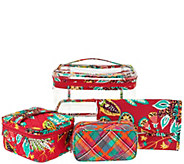 Vera Bradley Signature Print Travel Cosmetic Kit - A292911