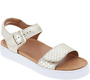 Vionic Leather Adjustable Sandals - Effie - A305011
