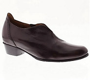 Spring Step Melbourne Leather Slip-on Shoes - A329911