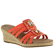 Easy Street Wedge Sandals - Bazinga - A339111