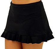 Fit 4 U Hips Solid Skirt w/ Flounce - A339811