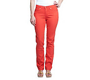 Isaac Mizrahi Live! Icon Grace Straight Leg Denim Jeans - A233212