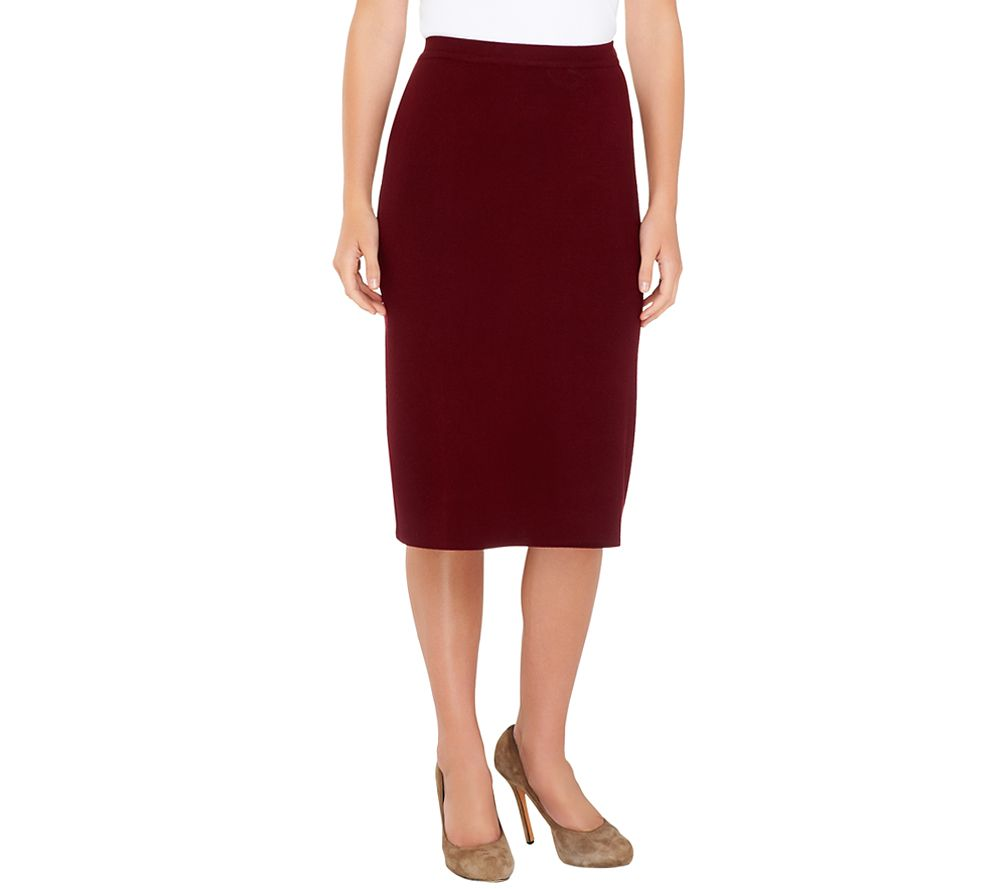 Linea by Louis Dell'Olio Whisper Knit Pencil Skirt - A237412